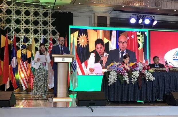 Выступление Д.Шевцова на 38-й Генеральной Ассамблее МПА АСЕАН (Манила, Филиппины)