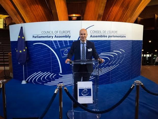 Участие в работе сессии Парламентской ассамблеи Совета Европы, Страсбург, Французская Республика